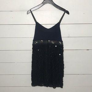 Free People sequin sleeveless Dress. Size 4